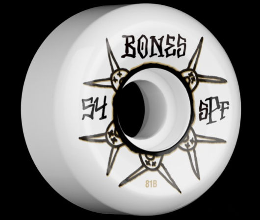 Bones Wheels SPF Ratz 54mm 81B Skateboard Wheels