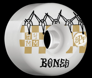 Bones Wheels SPF Tiles 54mm 81B Skateboard Wheels