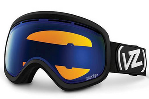 Feenom Ski and Snowboard Goggles Black Satin/Wildlife