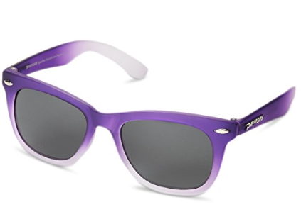 Peppers Spicy Lavender Fade Smoke Pol Flash Mirror Lens Sunglasses