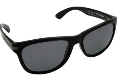 Peppers Westwood Shiny Black Smoke Pol Flash Mirror Lens Sunglasses