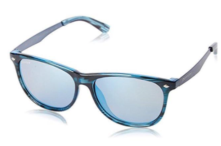 Peppers Broadway Blue Ocean Tortoise Brown Pol Diamond Blue Mirror Lens Sunglasses