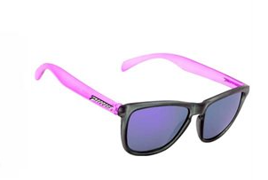 Peppers Breakers Polarized Sunglasses Black Frame Pink Arms