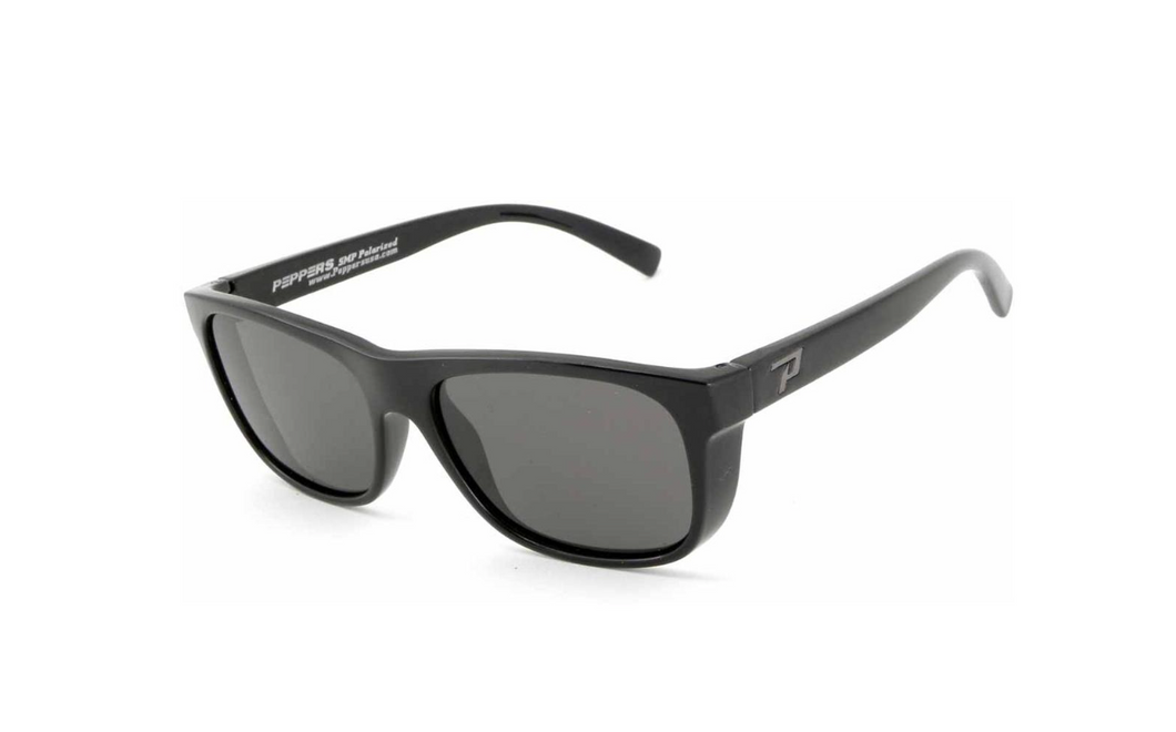 Peppers The Dude Polarized Sunglasses Black