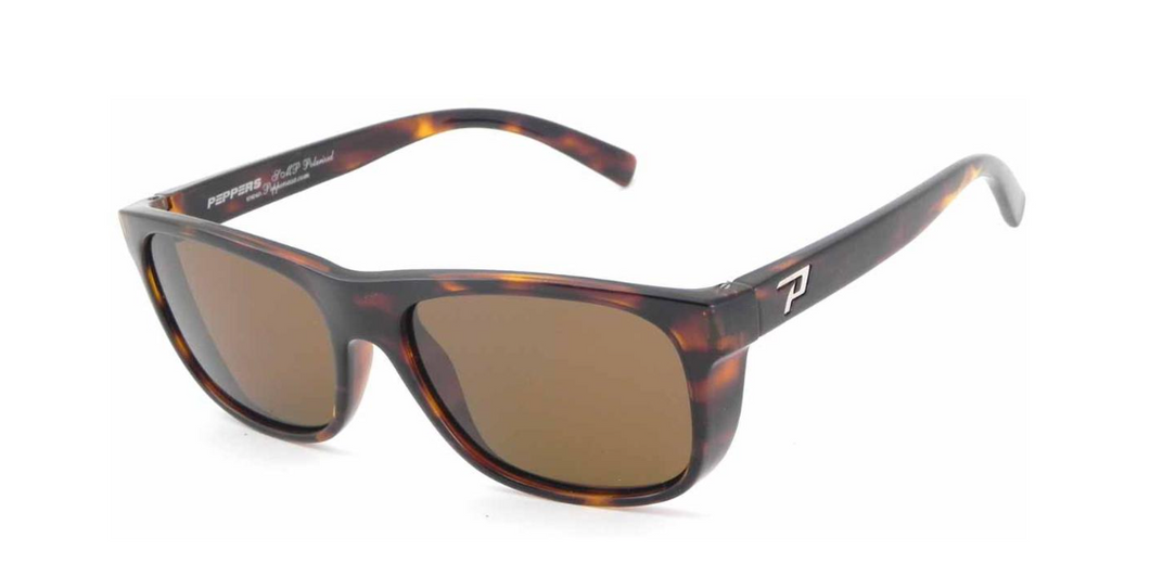 Peppers The Dude Polarized Sunglasses Tortoise