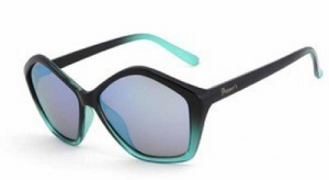 Peppers High Steppin Polarized Sunglasses Black & Teal