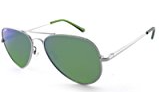 Peppers Maverick Polarized Sunglasses Gold & Green Ultraviolet Lens