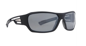 Polaroid Polarized Shield Sunglasses Black & Grey 7401-A