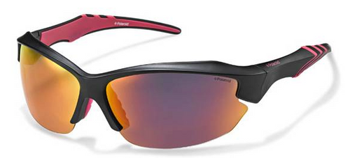 Polaroid Polarized Sunglasses Unisex Grey & Pink P7408A
