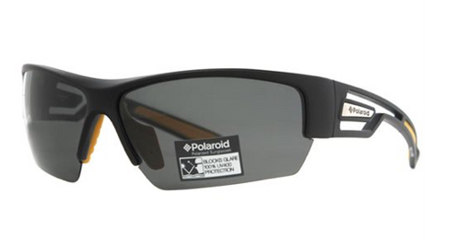 Polaroid Polarized Sport Sunglasses Black & Yellow P7410A