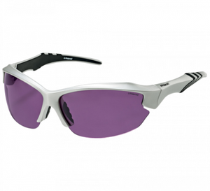 Polaroid Polarized Sport Sunglasses Silver With Purple Lens P7408B