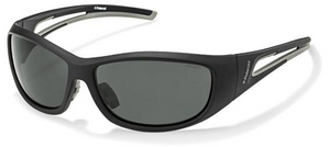 Polaroid Polarized Sunglasses Black & Grey P7406A