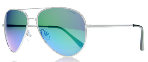 Polaroid Polarized Aviation Style Sunglasses Women's P4139S