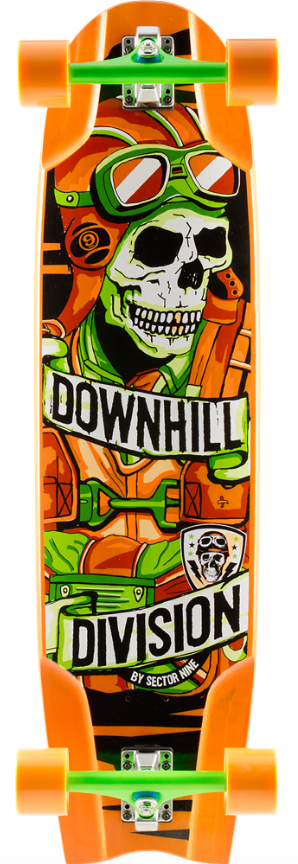 Sector 9 Bomber Downhill Division Longboard Complete