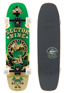 Woodshed Green Skateboard Complete