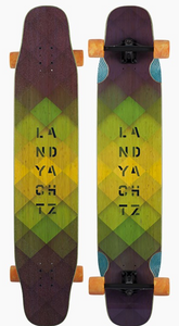 Bamboo Stratus Freestyle Longboard Complete