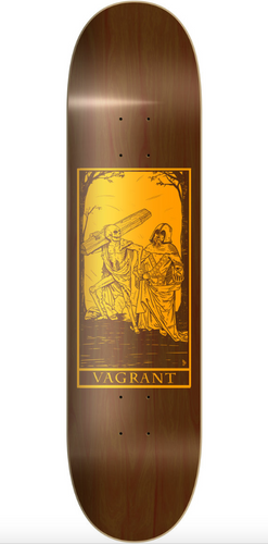 VAGRANT TAROT DANSE MACABRE BROWN GRAIN DECK 8.38
