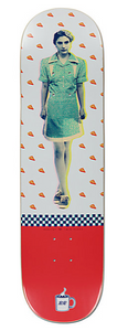 "Habitat Twin Peaks Shelly 8.25"" Skateboard Deck"