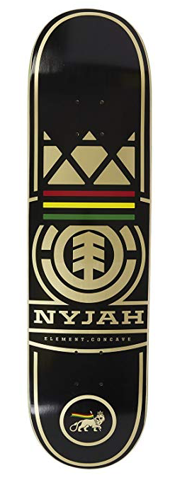 Element Nyjah Shape Logo 8.1 Skateboard Deck