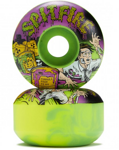 Spitfire Formula Four 99D Toxic Apocalypse 52MM Skateboard Wheels (Set of 4)