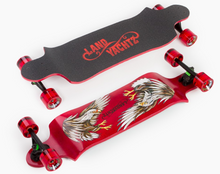 Switch 35 Eagle 35-Inch Drop Down Freeride Longboard Complete