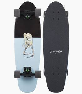 Dinghy Handstand Cruiser Longboard Complete