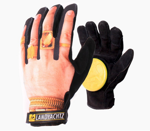 Landyachtz Bling Slide Glove Hand with jewelry graphic