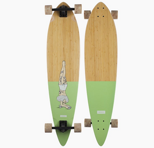 Bamboo Pinner Handstand Pintail Longboard Complete