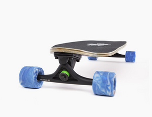 Landyachtz Mummy Jungle Fern Front Profile View Showing Upturnted Nose