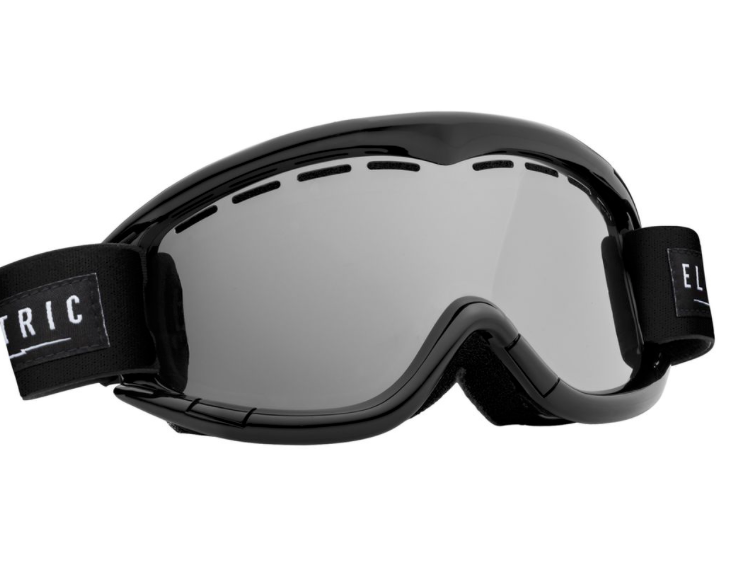Electric EG1K Gloss Black Bronze/ Silver Chrome Ski & Snowboard Goggle