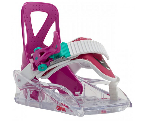 Grom Chicklet Snowboarding Bindings XSmall