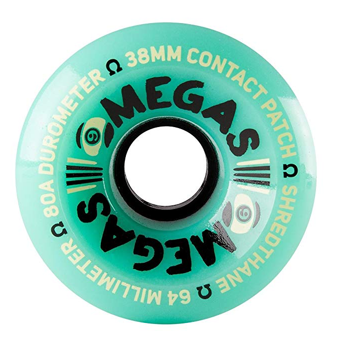 Sector 9 Omega Wheels - 64mm