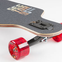 Vista Meridian Maple Drop-Through Freeride Longboard Complete