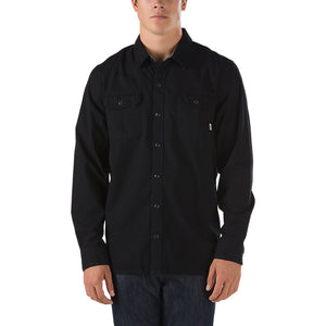 Vans Rutger Long Sleeve Woven Button Up Shirt