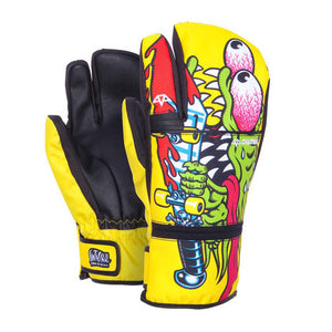 Celtek Men's Trippin Trigger Mitten Santa Cruz Slasher, X-Small