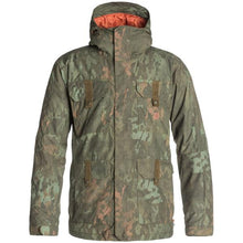 DC Men's Servo Insulated Ski and Snowboard Jacket Camo Lodge, X-Large