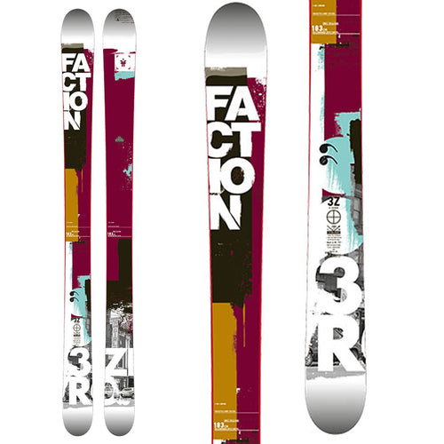 Faction 3.Zero Free-Ride Skis