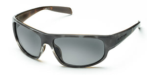 Native Eyewear Crestone Polarized Sunglasses Obsidian/Dark Gray with Gray Lens