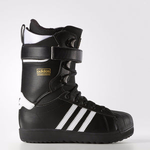 The Superstar Snowboarding Boots Size 12 Black/White/Gold