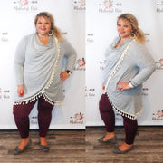 Banded Fleece Leggings + Burgundy