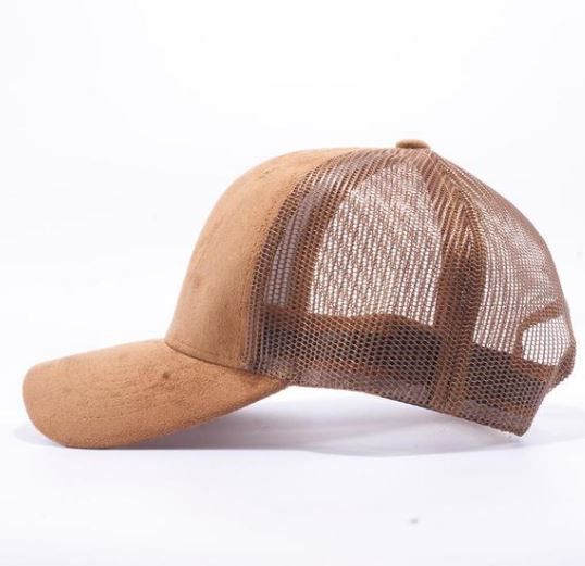 Suede Hat - Wheat