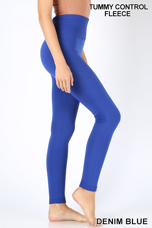Banded Fleece Leggings