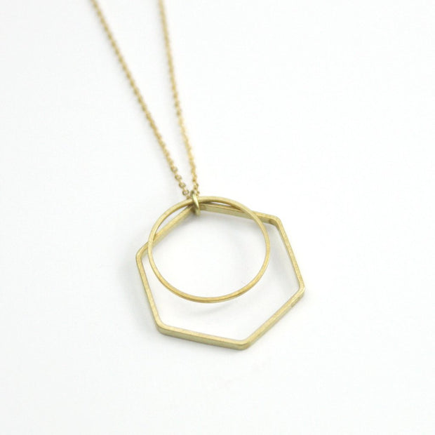 Layered Geo Necklace
