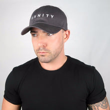 Charcoal Hat, White Embroidered Logo