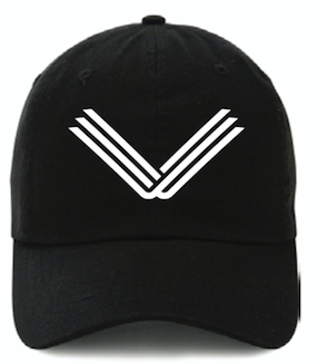 Black Hat, White Embroidered Logo