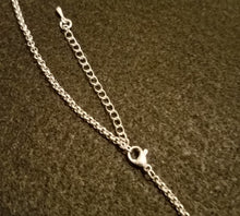 Aromatherapy Necklace (Silver tone)
