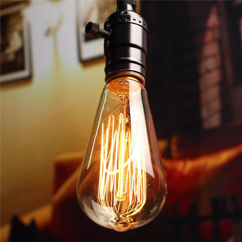 bulb filament spherical squirrelcage vintage lighting globes light fancy edison tungsten bulbs product