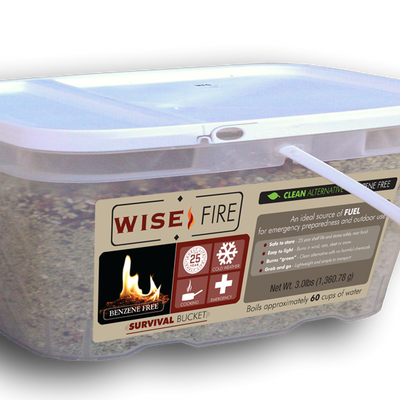 1 Gallon Bucket Wise Fire Fuel