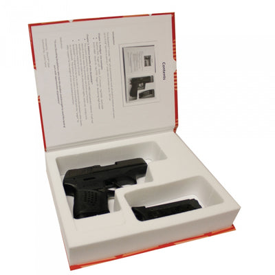BookKASE Hand Gun Book Safe-Best Recipes