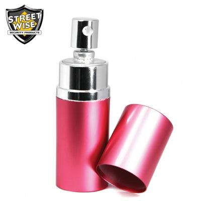 Lab Certified SW 18 3/4 oz Round Perfume Pepper Spray PINK